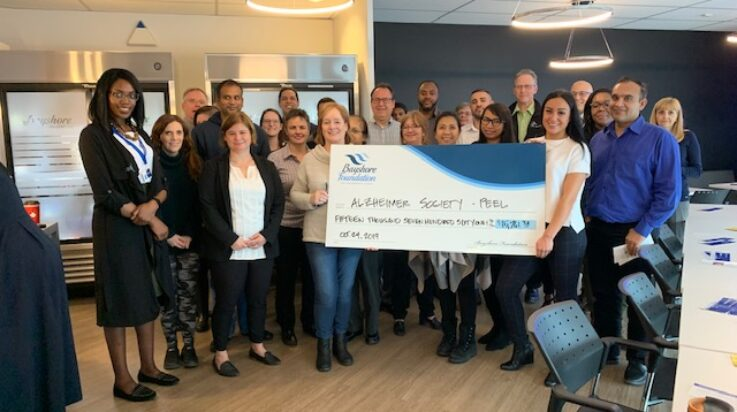 Alzheimer Society Peel Receives Bayshore Foundation Support